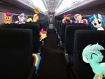 On the train by OJhat