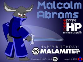 Malcolm Abrams 2012 by NS-Games