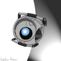 Wheatley - Portal 2 by ShadowSilverfan1997