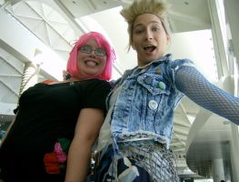 Megacon 08: Demyx and Friend by Rose-Vicious