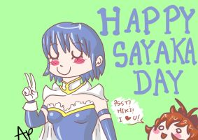 Sayaka's Day by ANTONIOMASTERPERES