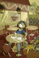 Coffee Shop Calamity by youlootamax