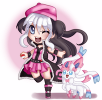 Pokemon Trainer OC by ChaoticBlossoms