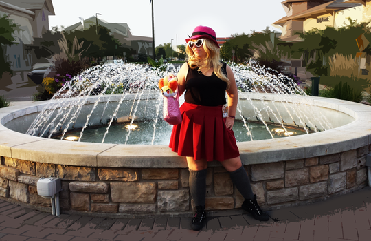 My Serena Cosplay [GeekKon2014] by KalosChampionSerena