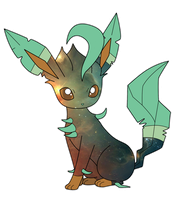Leafeon by Waterlines