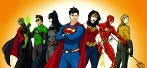 New Earth: Justice League of America by kyomusha