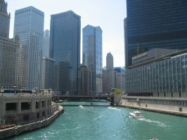 Chicago River by e-ffx