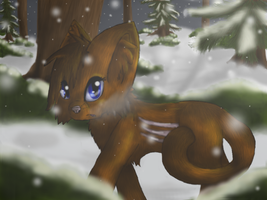 Evening Snow by Biscuit-Rawr