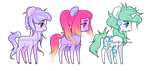 CLOSED - weeny ponies by Carnivvorous