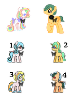 Surprise and Jumper Adopts [Open] by ChibiShay