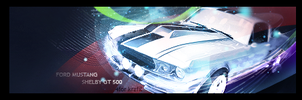 67 Ford Mustang Shelby GT 500 by Artush