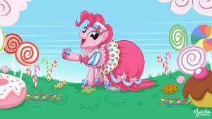 Pinkie Pie in Gala Dress 16.9 by mysticalpha