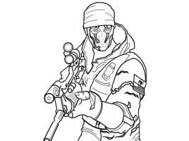 How to draw a Seal Character from CrossFire Part 2 by SketchHeroes