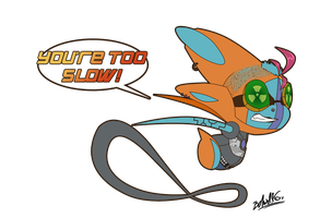 SH - Speed's My Game! by TamarinFrog