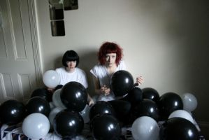 witches djs and ballloooons by selfhaircuts
