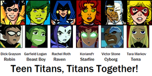 Teen Titans, Titans Together! by AdrenalineRush1996