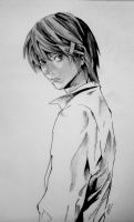 Light Yagami by 8thPlanetFromTheSun