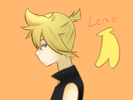 Kagamine Len First Attempt by momsbaby