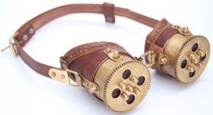Steampunk Goggles 7 by AmbassadorMann