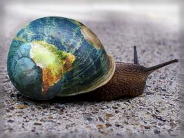 The Global Snail by daffodil-joy