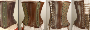 Fantasy hemp corset composite by LillysWorkshop