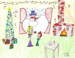 Riverside Holiday Card Entry by Stealthfire231