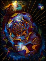 The Galaxy of Psychedelic by ivankorsario