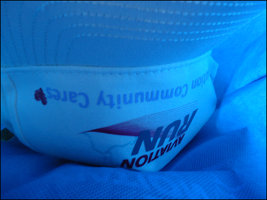 Aviation Run Cap in Goodie Bag by yumithespotter