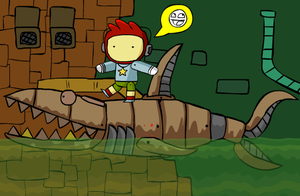 Scribblenauts' Clanker by McGenio