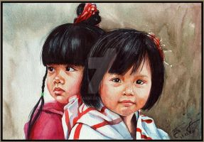 Children of Vietnam by Takir