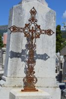 Old grave cross by A1Z2E3R