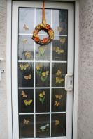 my newest door decoration for spring by ingeline-art