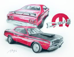 Dodge Dart 74 Sport by Mipo-Design