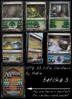 MTG Life Counter Batch #3 by Shalie