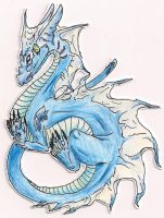 Blue Sea Dragon by Malusdraco