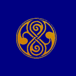 Rassilon's mark - Blue/Orange by Genuka