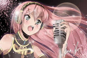 Luka Megurine by EmmaFrew