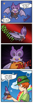 The Terror That Flaps in the Night by TamarinFrog