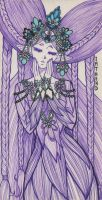 Purple Lady by ImthenD