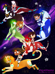 Voltron: Legendray Defender of cuteness by 1Day4Dreams