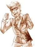 Grunkle Zombie Punchin' Stan by NynjaKat