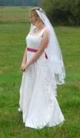 bride on a field 3 by indeed-stock