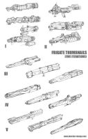 Frigate Thumbnail Concepts by MikeDoscher