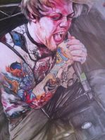 danny worsnop at warped 11 by PengillyProArt