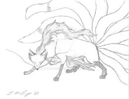 nine tails by WindSong83