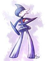 Gallade Again by MiharuZee