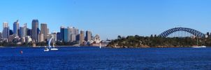 Typical Sydney Skyline by JolanthusTrel