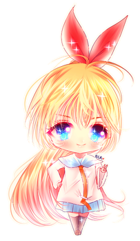 Chibi Chitoge by my-berry