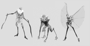 Alien Hybrid Concepts by Tokenin