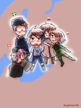 Balt with Poland,Russia,Sweden and Denmark by SingerHeart16